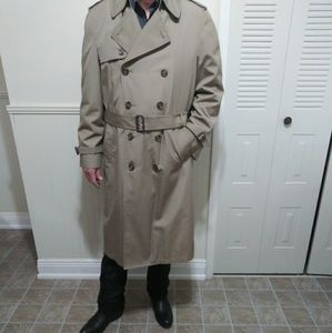 London Fog Mens Trench Coat